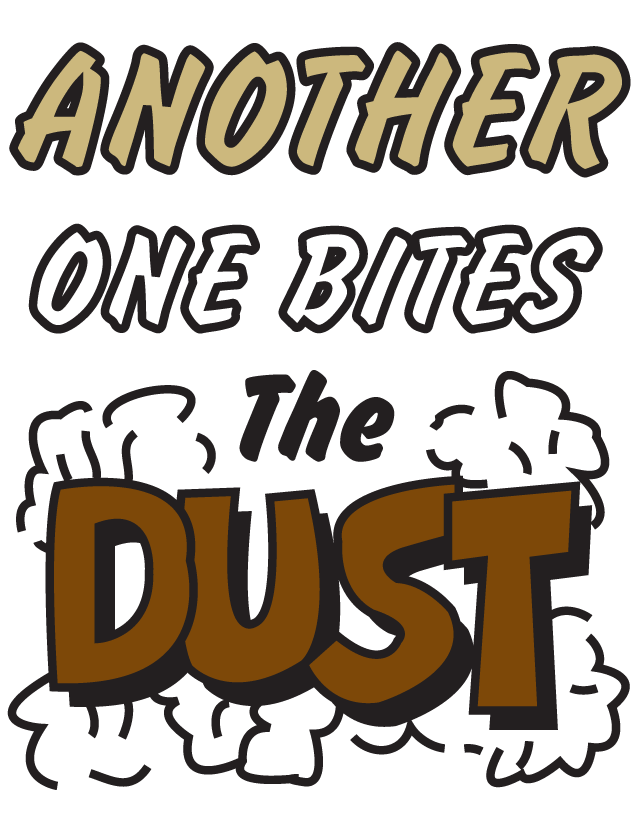 Another One Bites the Dust Temporary Tattoos