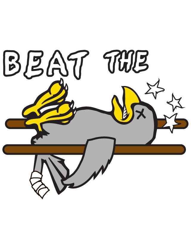 Beat The Birds Temporary Tattoos