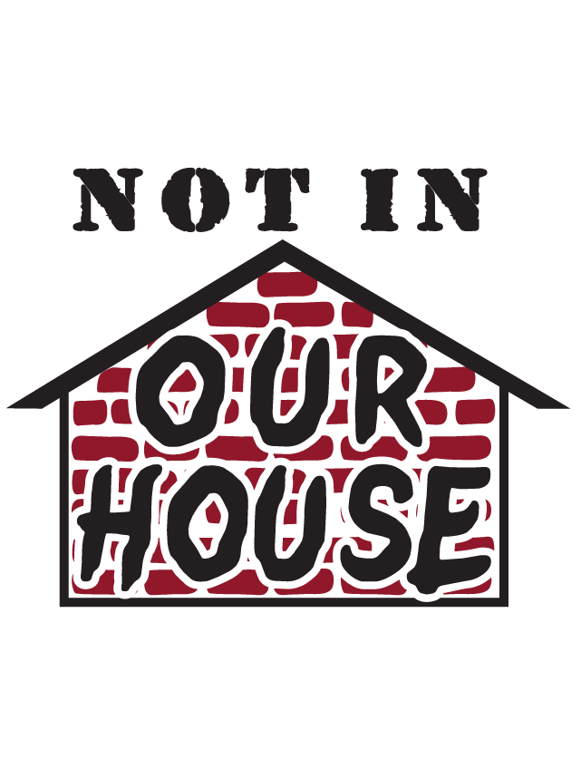 Not In Our House Temporary Tattoos
