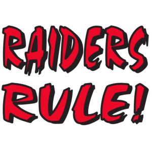 Red Raiders Rule Temporary Tattoos