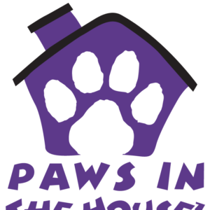 Purple Paws in the House Temporary Tattoos
