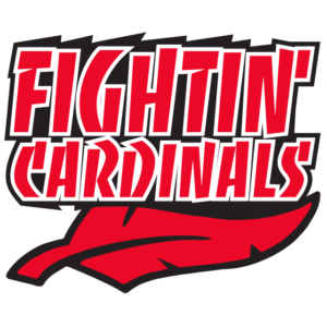 Red Fighting Cardinals Temporary Tattoos