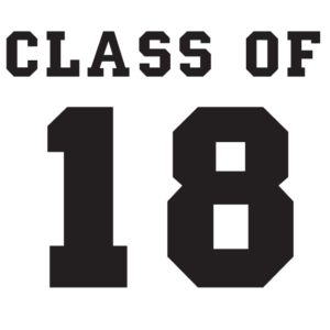 Class of 18 Temporary Tattoos
