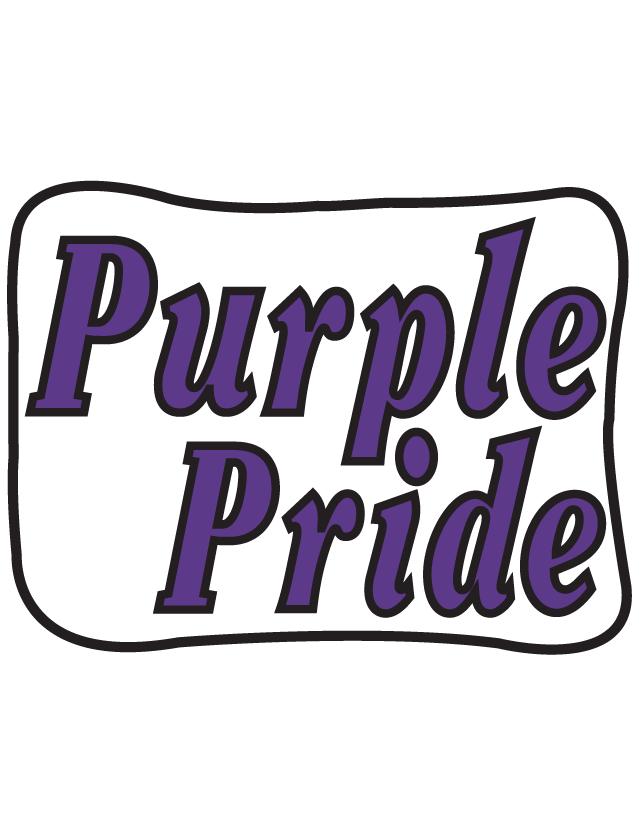 Purple Pride Temporary Tattoos
