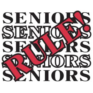 Seniors Rule Temporary Tattoos