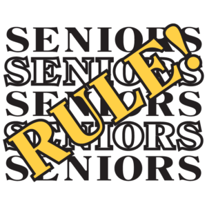 Seniors Rule Temporary Tattoo