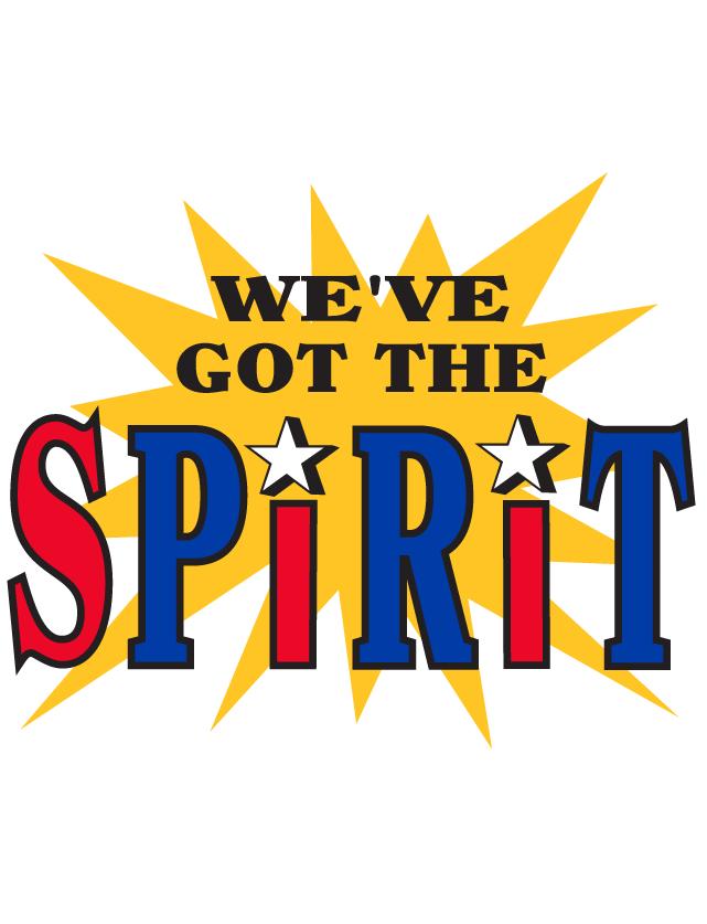 We've Got The Spirit Temporary Tattoos