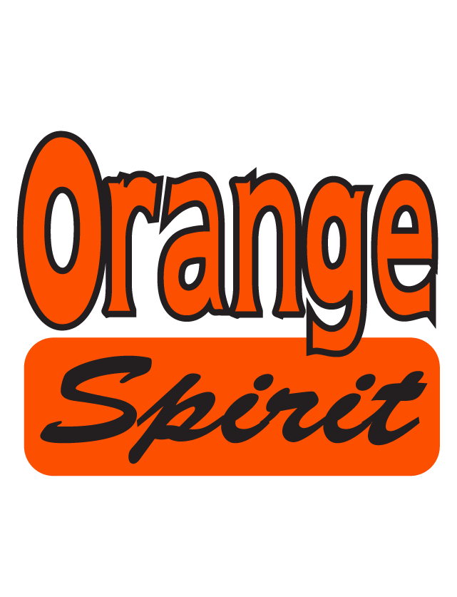 Orange Spirit Temporary Tattoos