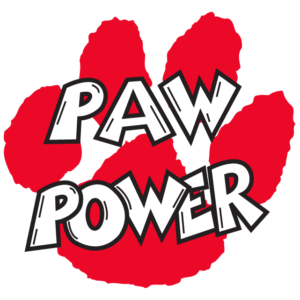 Red Paw Power Temporary Tattoos