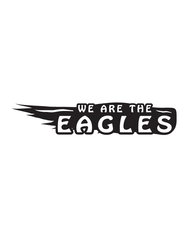 We are the Eagles Spirit Strip Temporary Tattoos