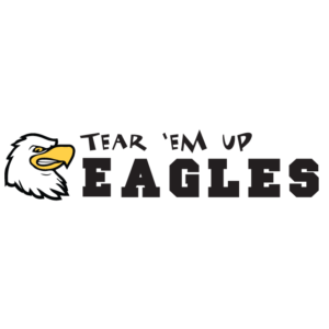 Tear 'Em Up Eagles Spirit Strip Temporary Tattoos
