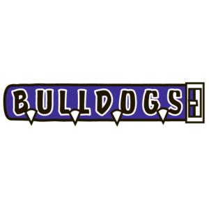 Purple Bulldogs Spirit Strip Temporary Tattoos