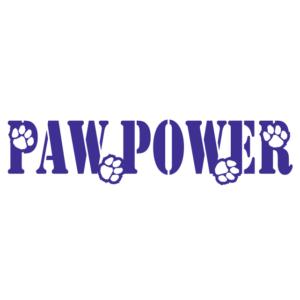 Purple Paw Power Spirit Strip Temporary Tattoos