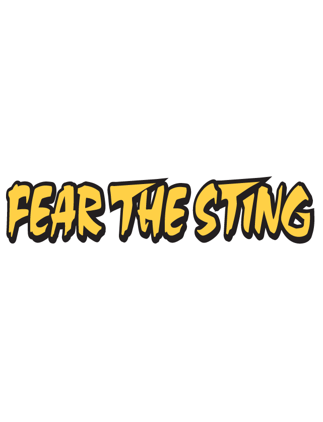 Fear the Sting Spirit Strip Temporary Tattoos