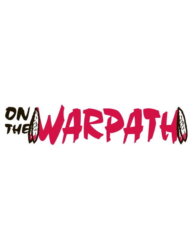 On the Warpath Spirit Strip Temporary Tattoos