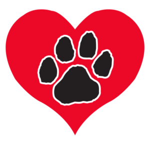 Paw Print Heart Waterless Tattoos
