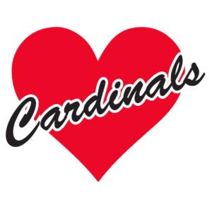 Cardinals Heart Waterless Tattoos