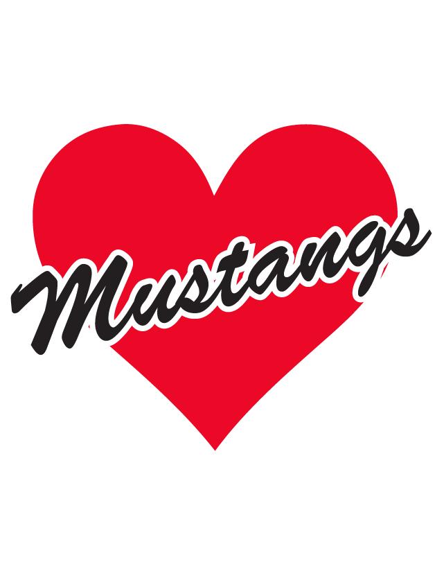Mustangs Heart Waterless Tattoos