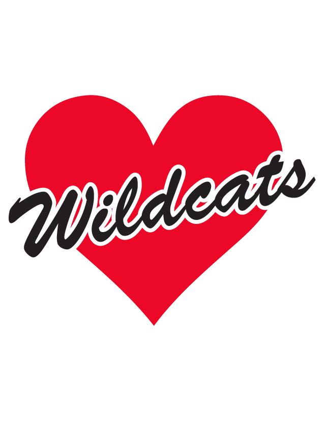 Wildcats Heart Waterless Tattoos