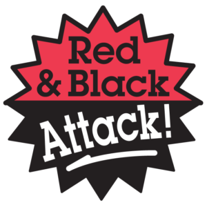 Red & Black Attack Waterless Tattoos