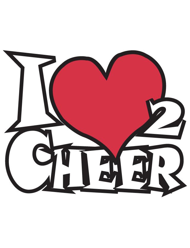 Love 2 Cheer Waterless Tattoos