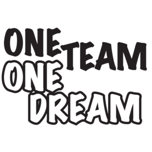One Team One Dream Waterless Tattoos