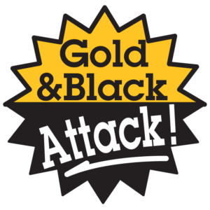 Gold & Black Attack Waterless Tattoos
