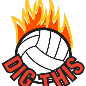 Dig This Volleyball Waterless Tattoos