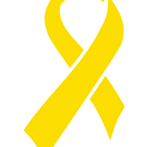 Awareness Yellow Ribbon Waterless Tattoos