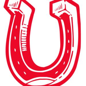 Red Horseshoe Temporary Tattoos