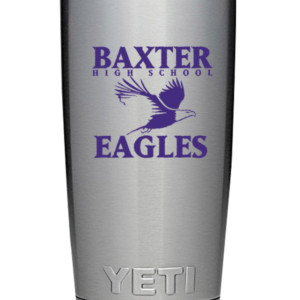 20 oz. School Spirit Yeti Tumblers