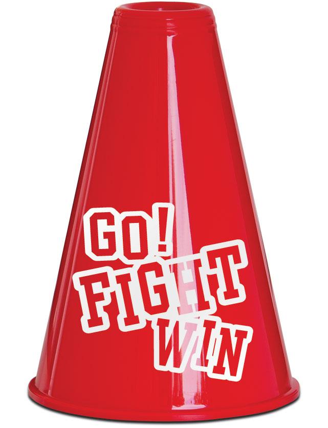 Go Fight Win Stock Megaphones