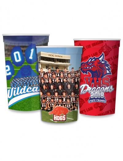 Full Color Stadium Cups