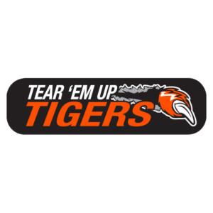 Tear 'Em Up Tigers Waterless Tattoos