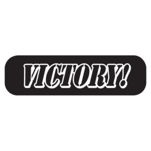 Victory Waterless Tattoos