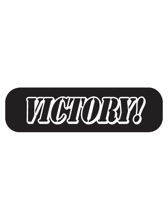 Victory Waterless Tattoos