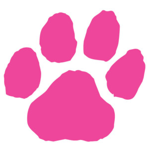 Awareness Paw Print Waterless Tattoos