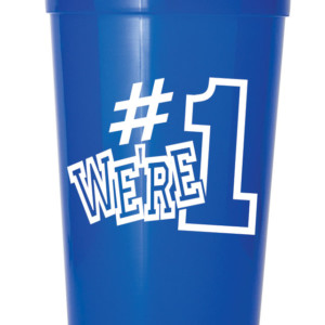 We're #1 Stadium Cups