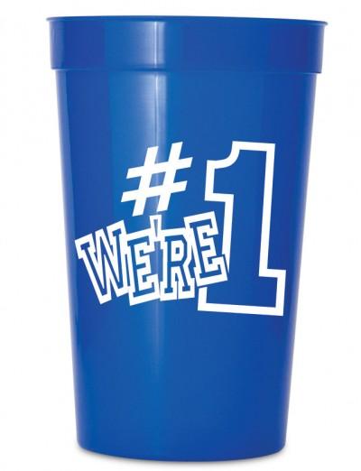 We're #1 Stadium Cups