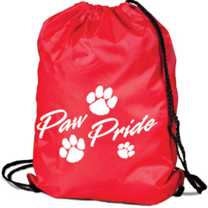 Stock Paw Pride Cinch Bag