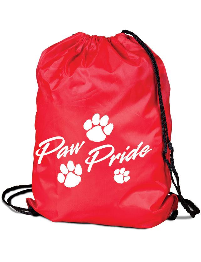 Stock Paw Pride Cinch Bag