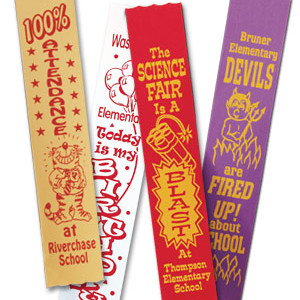 Satin Recognition Ribbons