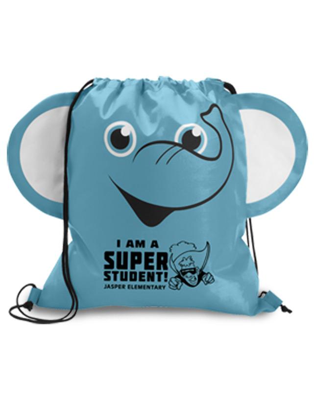 Elephant Cinch Bags