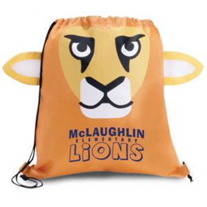 Lion Cinch Bags