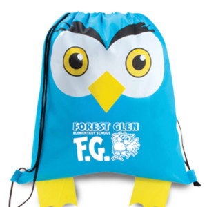 Owl Cinch Bags