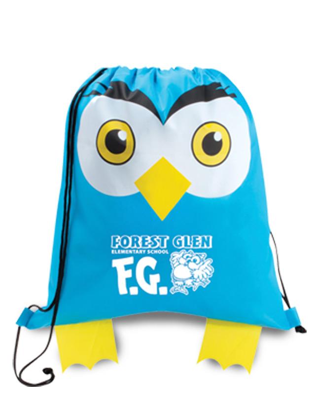 Owl Cinch Bags
