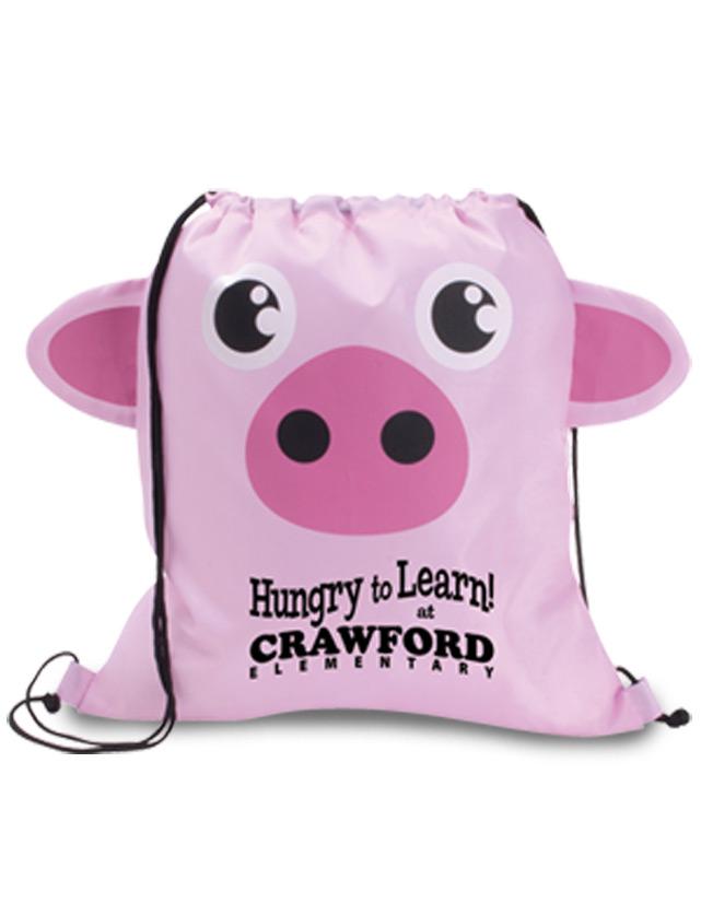 Pig Cinch Bags