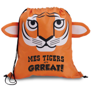 Tiger Cinch Bags